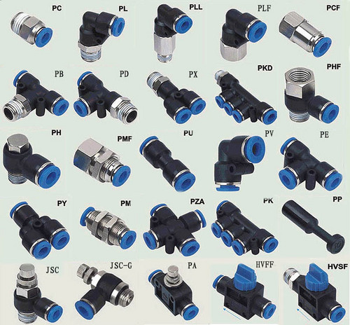 Pneumatic tubes air hose pipes fittings ideal impex